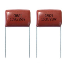 Metallized Polyester Film Capacitor Cbb21 Mpf